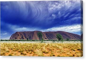 Thunder Rock Canvas Print