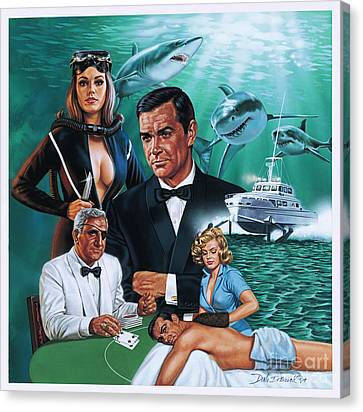 Thunderball Canvas Print by Dick Bobnick