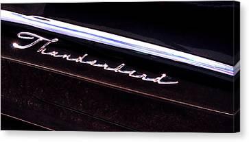 Thunderbird 14757 Canvas Print by Jerry Sodorff
