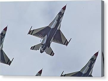 Go Go Thunderbirds Canvas Print