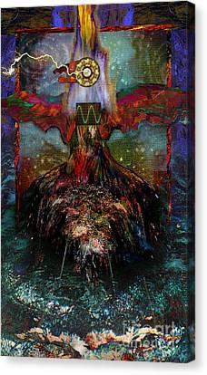 Thunderbird Of Reconciliation Canvas Print by Alyssa Hinton