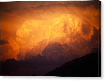 Thunderhead At Sunset Canvas Print