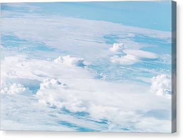 Thunderstorm Clouds Canvas Print by Nasa