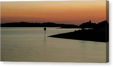 The Lake After Sunset Canvas Print by Alexandre Martins