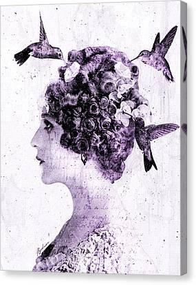 Thy Love Like Nectar Canvas Print