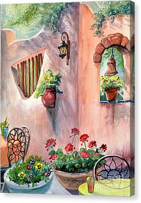 Tia Rosa's Canvas Print by Marilyn Smith