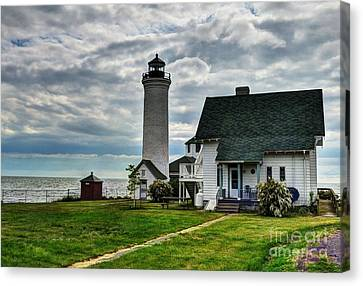 Tibbetts Point Lighthouse Canvas Print by Mel Steinhauer