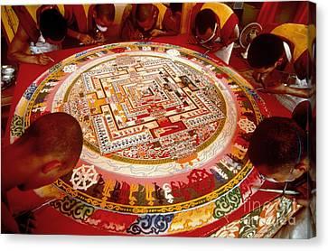 Tibetan Mandala Canvas Print by Kazuyoshi Nomachi