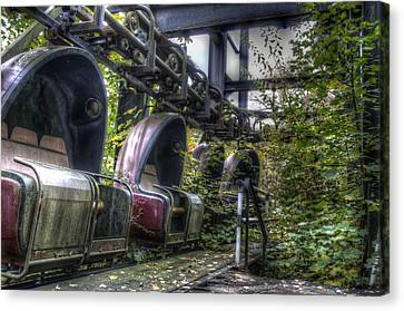 Ticket To Ride Canvas Print by Nathan Wright