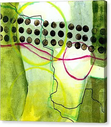 Tidal 14 Canvas Print by Jane Davies