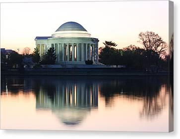 Tidal Basin Sunrise Canvas Print