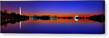 Thomas Canvas Print - Tidal Basin Sunrise by Metro DC Photography