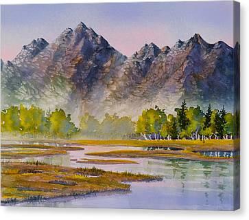 Tidal Flats Canvas Print