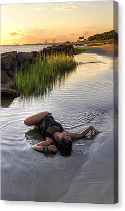 Tidal Pool  Canvas Print by Drew Castelhano