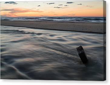 Tidal Rip Canvas Print by Kristopher Schoenleber