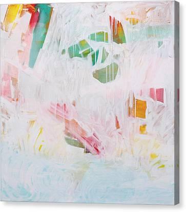 Tidal Wash  C2012 Canvas Print by Paul Ashby