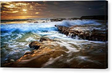 Tidal Wash Canvas Print