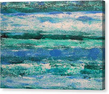 Tide Canvas Print by Lisa Williams