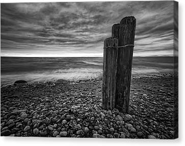 Oak Harbor Canvas Print - Tides Of West Beach by Kevin Pate