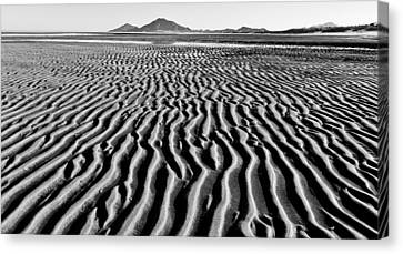 Tides Out Canvas Print by Atom Crawford