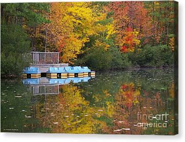 Canvas Print - Tidewater Autumn by Tannis  Baldwin
