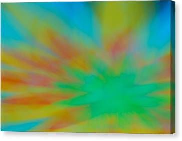 Tie Dye Abstract Canvas Print