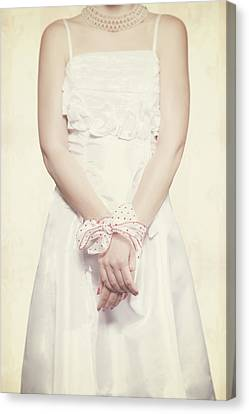 Tied Canvas Print by Joana Kruse