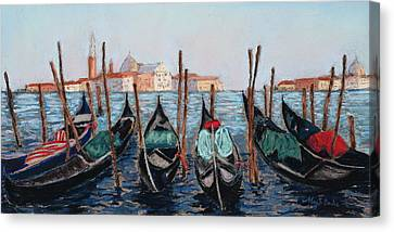 Tied Up In Venice Canvas Print