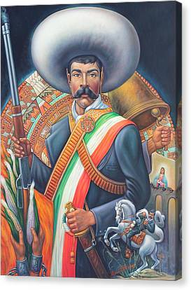 Tierra De Temporal Zapata 2 Canvas Print
