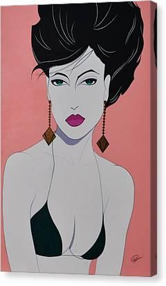 Tiffany Canvas Print by Patrice Clark
