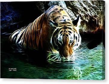 Tiger 3838 - F Canvas Print