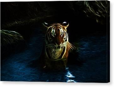 Tiger 3860 - F Canvas Print