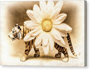 Tiger Dream Canvas Print by Jeff  Gettis