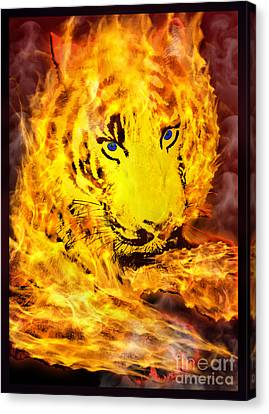 Tiger For Sale Canvas Print by Gary Keesler