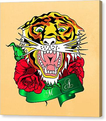 Tiger L Canvas Print
