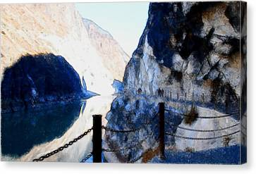Deep River County Park Canvas Print - Tiger Leaping Gorge 1 by Lanjee Chee
