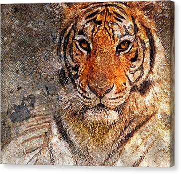 Tiger Life Canvas Print by Yury Malkov
