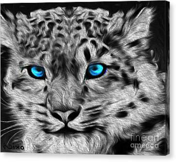 Tiger Canvas Print by Never Say Never
