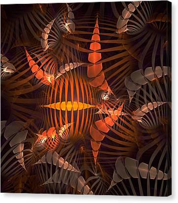 Tiger Shrimp Canvas Print