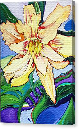 Tigerlily Canvas Print by Jamie Downs