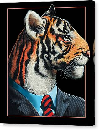 Tigerman Canvas Print by Scott Ross