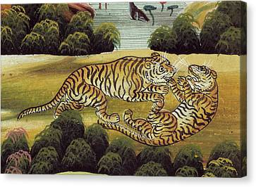 Tigers Canvas Print by British Library