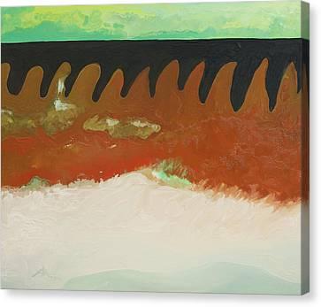 Tigers Hide Canvas Print by Joseph Demaree