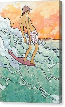 Tight Walker Canvas Print