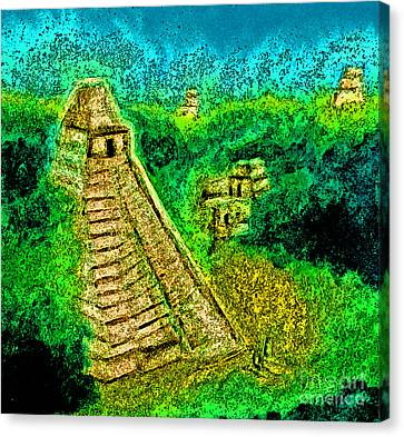 Tikal By Jrr Canvas Print by First Star Art