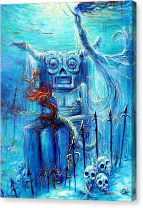 Tiki Man IIi Canvas Print