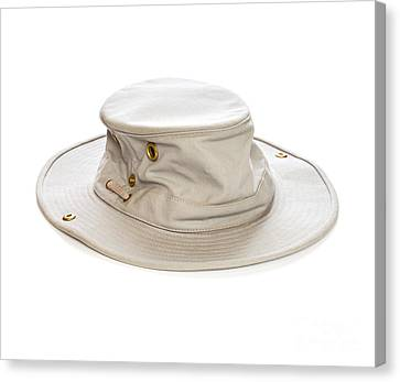 Tilley Hat Canvas Print by Colin and Linda McKie