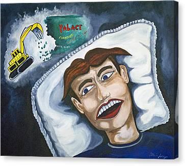 Tillies Nightmare Canvas Print by Patricia Arroyo