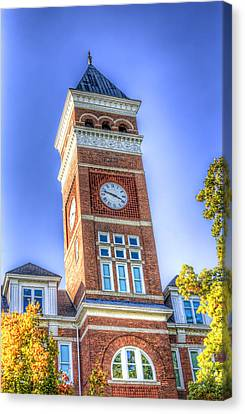 Tillman Clock Tower Canvas Print