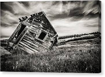 Old School Houses Canvas Print - Quartz Mountain 7 by Yo Pedro